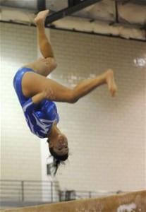 Gymnastics side aerial